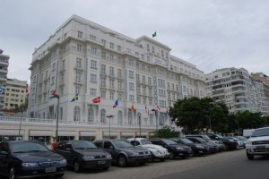 Das Copacabana Palace in Rio de Janeiro - Foto: Andreas-Frank